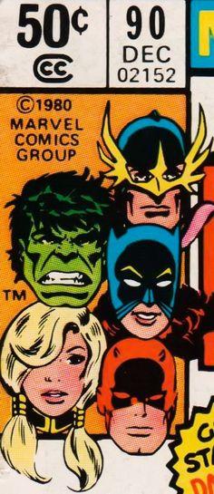 Marvel corner box art - The Defenders (guest-starring Daredevil)