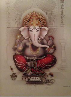 Ganesha the benevolent one ...
