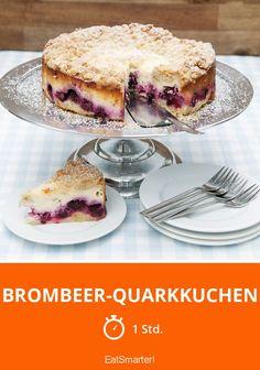 Brombeer-Quarkkuchen - smarter - Zeit: 1 Std. | eatsmarter.de