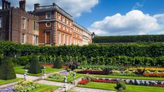 The 1,000-room Hampton Court Palace and Garden was once occupied by Henry the VIII.