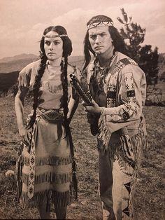 Winnetou II Winnetou & Ribanna Pierre Brice Karin Dor