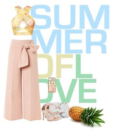 """""""Summer"""" by artistkarstenmouras ❤ liked on Polyvore featuring Topshop, Ted Baker and claire's"""