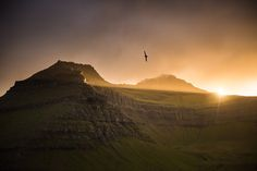 Midnight Sun in the Faroe Islands - A lost world - Adventure & Landscape Photographer - Tom Archer Midnight Sun, Faroe Islands, Atlantic Ocean, Archipelago, Landscape Photographers, Archer, Monument Valley, Composition, Toms