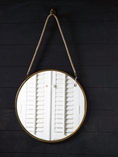 €49,95 Sorrento Mirror L incl. Hook #living #interior #rivieramaison