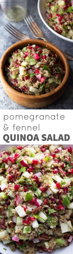 Pomegranate Fennel Q