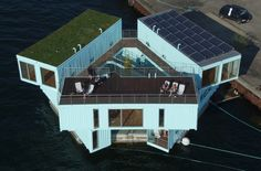 Floating Student Housing - Urban Rigger's Affordable Dorms are Afloat in Copenhagen's Harbor (GALLERY)