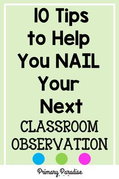Teacher Observations: Tips to help new teachers and veteran teachers have successful classroom observations with their administrators. Back To School Activities, Teaching Activities, Teaching Ideas, School Ideas, Back To School Organization, Teacher Organization, Teacher Hacks, First Grade Reading, First Grade Math