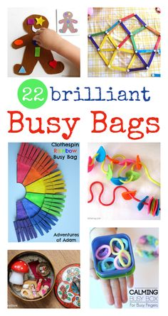busy bag ideas :: quiet time activities