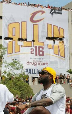 Cleveland Cavaliers Championship Parade. .. #MVP #Akronkid z