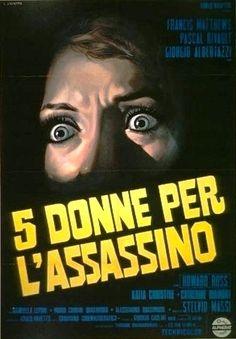 "5 donne per l'assassino (Stelvio Massi, 1972, ""Five Women for the Killer"")"