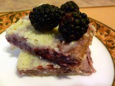 Blackberry Marscapone Pie Bars - Everyday Foodie Blog
