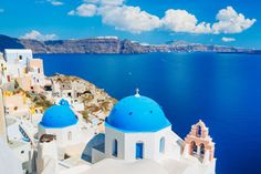 Greece has dominated 'Europe's Top 10 Islands' category at this year's Travel + Leisure World's Best Awards, with the beautiful Santorini taking first place. Santorini Travel, Santorini Island, Santorini Greece, Kamari Beach, Cruise Port, Island Tour, Paradise Island, Top Destinations, Beautiful Islands