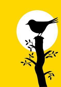 Free Image on Pixabay – Animal, Bird, Blackbird, Misc, Moon – Malerei Cool Art Drawings, Pencil Art Drawings, Art Drawings Sketches, Bird Drawings, Sketch Drawing, Oil Pastel Paintings, Oil Pastel Art, Indian Art Paintings, Oil Pastel Drawings Easy