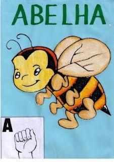 ALFABETO ILUSTRATIVO:aprendendo com imagens, símbolos(letras), LIBRAS(Língua de Sinais Brasileira) | Inclusão: Enfase em surdez