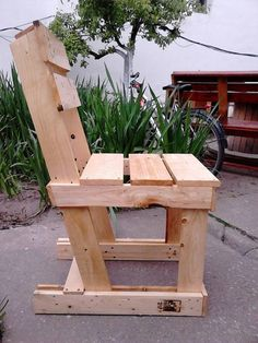 Furniture from Pallets Garden Furniture from Pallets Pallet Benches, Pallet Chairs & Stools Garden Furniture from Pallets Pallet Benches, Pallet Chairs & Stools Pallet Garden Furniture, Pallet Chair, Outdoor Furniture Plans, Rustic Furniture, Diy Furniture, Pallet Benches, Garden Pallet, Outdoor Pallet, Furniture From Pallets