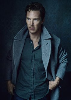 ELLE MAGAZINE [UK] (December 2014) ~ Benedict Cumberbatch from cover interview photo gallery.