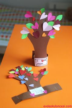 El İzi ve Kalplerden Ağaç Yapımı