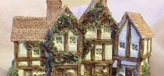 David Winter the Apothecarys Shop Cottage by Spiritwoodsgiftbox, $48.00