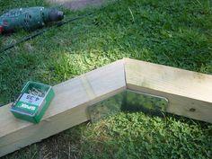 Comment fabriquer son support à hamac en bois ? - La maison du Sart Fire Pit Bench, Support, Pallet Furniture, Diy, Gardens, Hammocks, Wood, Piscine Hors Sol, How To Build