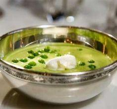 Hrášková polévka  (split pea soup)