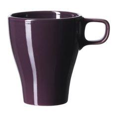 IKEA FARGRIK - Mug, stoneware dark lilac 25cl Ikea http://www.amazon.co.uk/dp/B00GMM5OYW/ref=cm_sw_r_pi_dp_o6T0ub06PM3TV