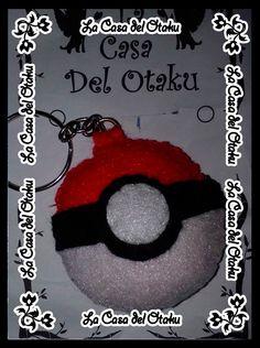 #llavero #fieltro #pokeball #pokemon #anime #manga #japan #videogame #handmade #pikachu