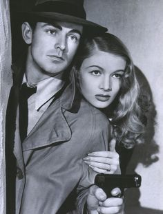 Alan Ladd - Veronica Lake