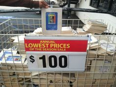 The low price of $100...why decimals are important!