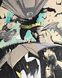"1,360 Me gusta, 11 comentarios - Food One (@jimmahfood) en Instagram: ""No sleep till Gotham.  @newyorkcomiccon  Pre-con commissions at jimmahfood@gmail.com #batman…"""