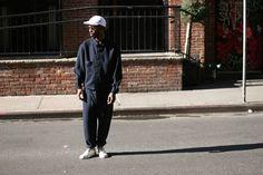 #jacket #pants #sneaker #cap #fashion