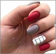 42 Charming red Nail Art Designs To Try This summer nails;n Nail arts 42 Charming red Nail Art Designs To Try This summer nails;n Nail arts Nail Manicure, My Nails, Nail Polish, Disney Manicure, Shellac Manicure, Line Nail Designs, Latest Nail Designs, Red Nail Designs, Nagel Hacks