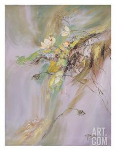Giclee Print: Poster of Yi Xianbin by Yi Xianbin : Abstract Flowers, Claude Monet, Chinese Painting, Find Art, Framed Artwork, Giclee Print, Illustration Art, Art Prints, Artist