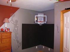 Boys Room Basketball Flooring Rockets Logo | KAY STIMSON PROPERTIES |  Pinterest | Rockets Logo, Room And Basketball Room