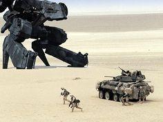 us Marines fighting robot
