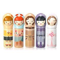 Etude House Mini-Me Perfumed Stick Honey Packaging, Cute Packaging, Design Packaging, Packaging Ideas, Kawaii Makeup, Cute Makeup, Bunny Makeup, Etude House, Korean Makeup