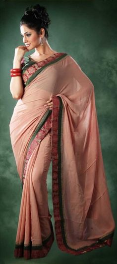 code-84903  At #age 30, If you want to keep it more simple and less loud, choose #pastel colors.There are many shades of it which can be worn with thin colorful border works to make it interesting.  #fashiontip #saree #thirties #30s