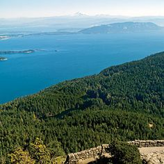 Moran State Park, Orcas Island, WA: The jewel of Washington's state park system, with 5,252 acres of forests, lakes, and waterfalls. The view from Mt. Constitution is world-class and well worth the trek upward.