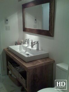 Awesome Modern Floating Vanity With Black Wooden Drawers And Doors on