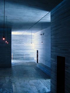 ARCHITECTURE   DETAILS   Photo Credit: Trixli on Flickr. Adore the work of #PeterZumthor. Visiting #TheThermeVals in person trully changed my life, to experience illuminating an interior with intention at its finest.