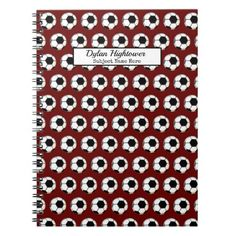 Back To School For Teens, Back To School Organization, Custom Notebooks, Lined Page, Business Supplies, Soccer Ball, Notes, Day, Prints