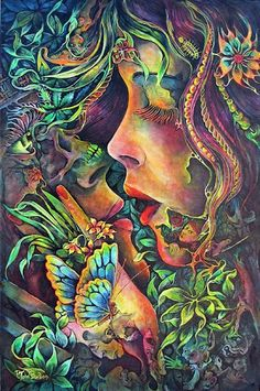 Fantasy love is much better than reality love. Never doing it is very exciting. The most exciting attractions are between two opposites that never meet. -Andy Warhol-