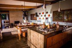 Panorama Peak Penthouse: A kitchen fit to entertain! Ski Chalet, Kitchenette, Kitchen Island, Villa, Luxury, Places, Fit, Google, Home Decor