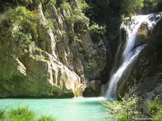 The most magical natural landscape you have ever seen … – Nature Beauties Kai, Places In Greece, Natural Scenery, Ancient Greece, Natural Disasters, Science And Nature, Day Trip, Waterfall, Places To Visit