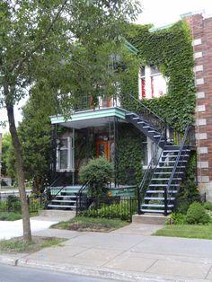 Rosemont area of Montreal