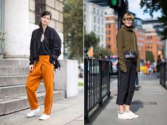 Spotted: White Sneakers - Fashion Street Style