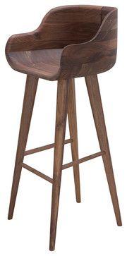 Kieren Bar Stool - contemporary - bar stools and counter stools - Inmod
