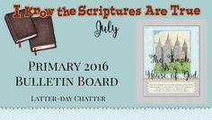 2016 Primary Bulletin Board | Latter-Day Chatter | Bloglovin'