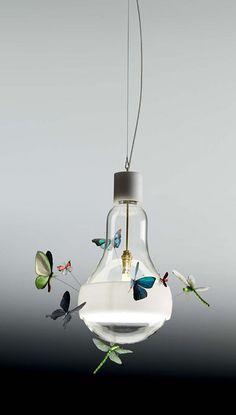 For Lisa Rivas...Butterfly light bulb.
