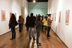 Inauguración de la exposición: Circo, Maroma y Teatro de  José Guadalupe Posada en el Museo de la Ciudad de México. Foto: Antonio Nava.
