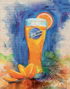 blue moon beer - Google Search